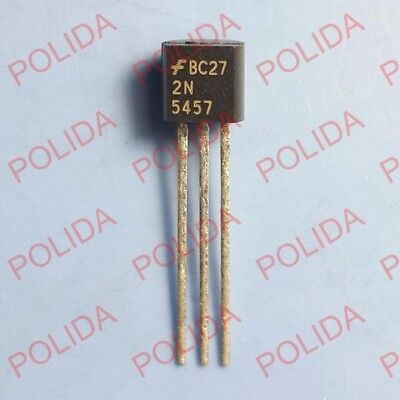 10pcs Jfet Transistor Fairchildsiliconix To-92 2n5457
