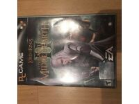PC Lord of the rings game