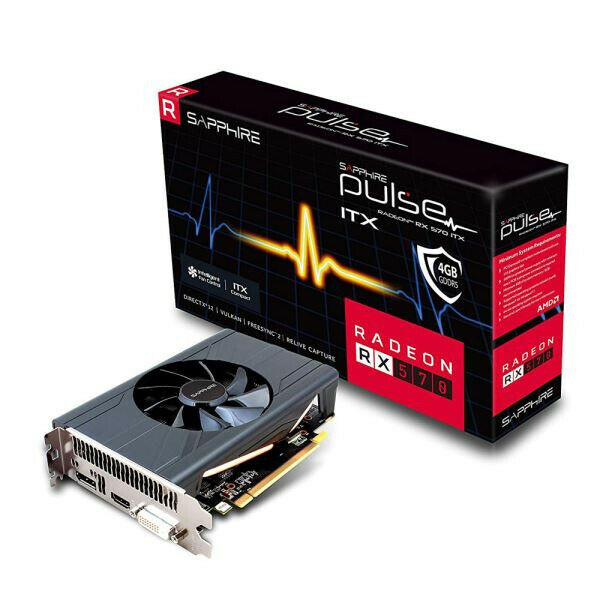 Sapphire AMD Radeon RX 570 4GB Mini ITX Graphics Card | in Torquay, Devon |  Gumtree