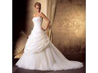 Brand new Wedding dress (Justin alexander designer)