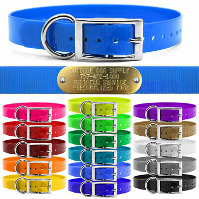 - Hunting Dog Name Collar Strap 1