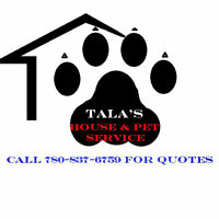 Tala's house and pet service