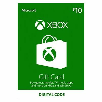 XBOX Live Gift Card 10 EUR Xbox Live Key - EUROPE Código...