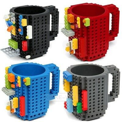 DIY Creative Lego Brick Mug Building Blocks Coffee Cup Block Puzzle Mug 350ml - Diy Lego