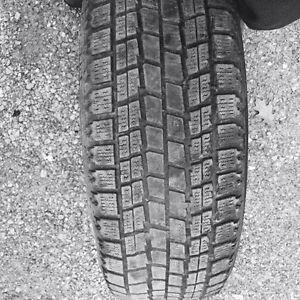 4 pneus hivers blizzak bridgestone