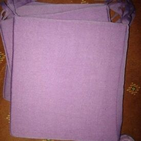 Purple set pads set of four £16.00 NEW CONDITION ONLY £4.00 EACH