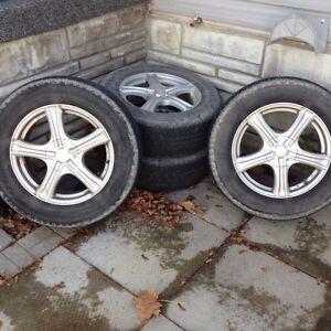 Custom rims with tires Kitchener / Waterloo Kitchener Area image 2
