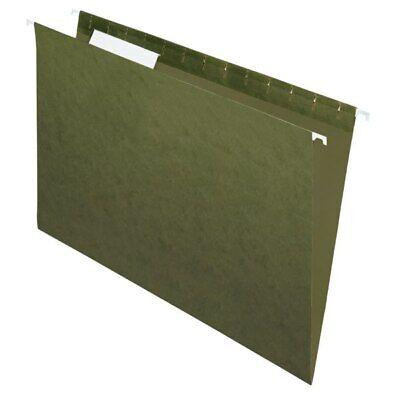 Office Depot Brand Hanging Folders 13 Cut Legal Size Green 25-pk