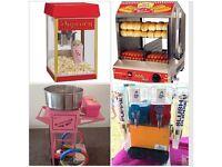 Bouncy castle popcorn & candy floss machine slush machine soft play hire in London area t