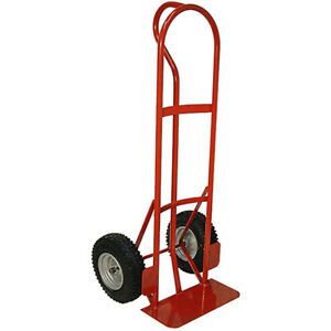 """Red """"P""""-Handle Hand Truck Cart with 800 lbs capacity London Ontario image 1"""