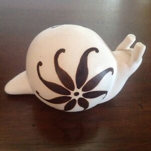 STRAWBERRY HILL POTTERY - SNAIL...Price Reduced!!