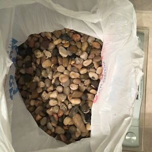 13 pounds of polished aquarium stones
