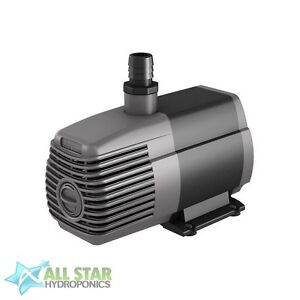 Active Aqua 1000 GPH Submersible Water Pump - Hydroponic Aquarium Pond Fountain