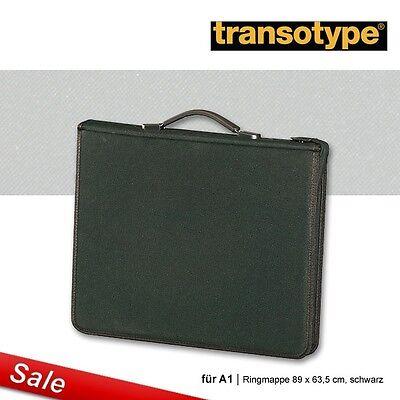 Ringmappe Transotype für A1 89 x 63,5 cm, schwarz