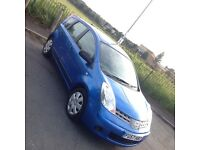2007 Nissan Note. 1.4 16v. LPG conversion