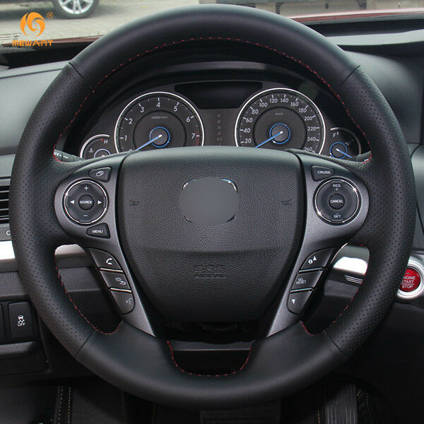 Leather Steering Wheel Cover For Honda Accord 9 Odyssey