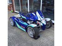 """HURRICANE CARS"" GG Quad powered by Bmw R1150"