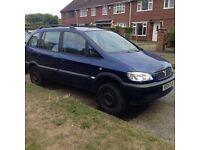 Vauxhall Zafira 2.2 2004