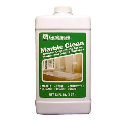 6 Pk Lundmark 32 Oz. Clean Concentrate for Marble & Granite Liquid Marble Clean