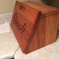 Bread box with cutting board