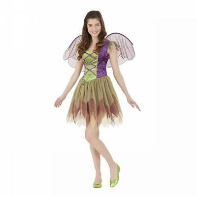 NEW GARDEN FAIRY WINGS ANGEL GOTH HALLOWEEN COSTUME TEEN TWEEN Girl size OSFM