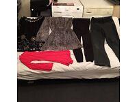 Maternity winter clothes bundle 14-16size