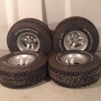 33 tires and rims