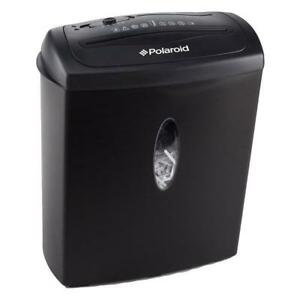 NEW Polaroid Paper Shredder With 8-Sheet Shred Capacity & CD Shred (PRS-F-04)