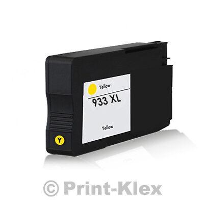 XXL Tintenpatrone für HP OfficeJet 6100e Printer 6600e All in One CN056AE Yellow (Hp All In One Drucker 6100)