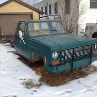 1975 Chevy parts truck for trade on bike