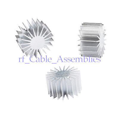 10pcs 13w Watt Led Aluminum Heat Sink Round Radiator 36mm Od 20mm Height