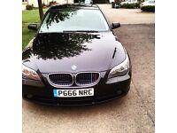 BMW 520i e60 fsh, mot, might swap
