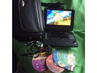 "LOGIK 9"" DVD player"