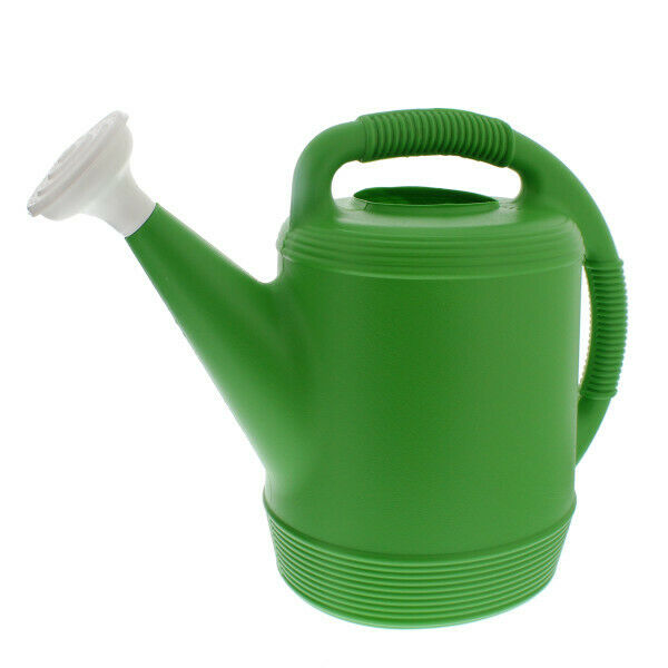 Aqua Plumb Misco Plastic Watering Can, 2-Gallon, Lime Green