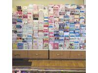 Retail card rack x 3 plus cards