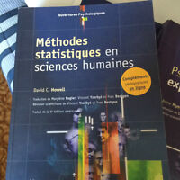 Laurentian Txt - French Stats Books