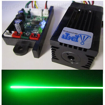 Quality Super stable 200mW 532nm green laser module + focus TTL continuous work 200 Mw Green Laser