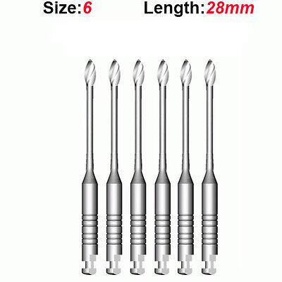 Top Quality Endo Dental Endodontic Gates Glidden Drills 6 28mm 6pkg