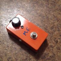 """Vintage Muff Fuzz prototype """"second"""" TL Pedals"""