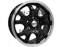 """Clearance stock sale!!! 16"""" Calibre Dominator Alloy Wheels fit Ford Transit Van"""