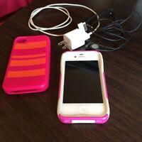 iPhone 4 w/Cases