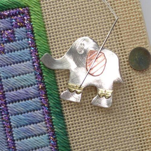NEEDLE NANNY- Elephant