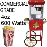 Commercial Grade Popcorn machines, Snow Cone more BRAND NEW