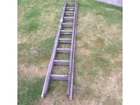 Wooden ladders