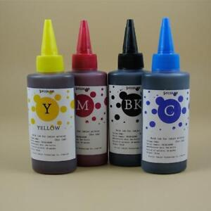 Universal Dye Ink Bottles 100ml for any Inkjet Printer $7/each color