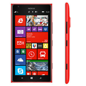 Mint condition Nokia Lumia 1520 Unlocked - Red color