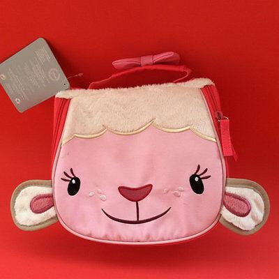 Disney Doc Mcstuffins Lambie Lunch Bag Sandwich box nursery