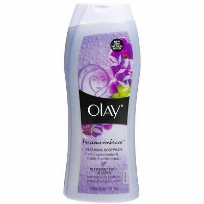 Embrace Body Wash (Olay Body Wash-Luscious Embrace jojoba &crushed orchid extract -12 oz )