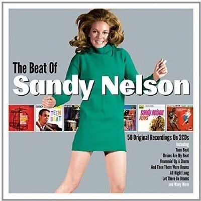 Sandy Nelson The Beat Of 2-CD NEW SEALED Let There Be Drums/Teen Beat/Tequila+](Tequila Teen)