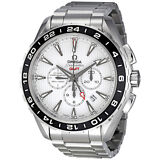 Omega Seamaster Aqua Terra White Dial Automatic GMT Stainless Steel Mens Watch